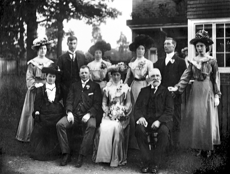 The Herridge Family c1909